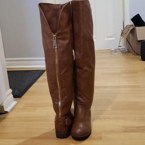 'JustFab' Thigh High Boots